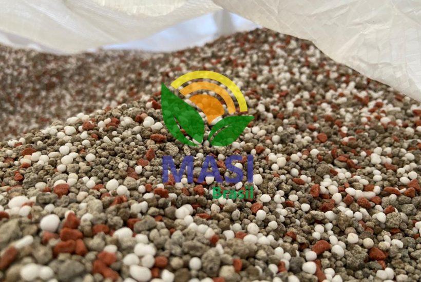 varredura de fertilizante npk