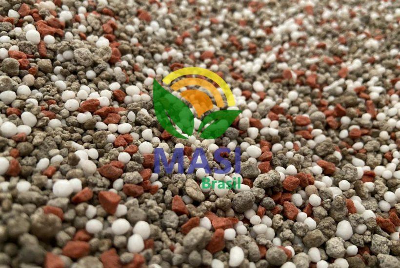 varredura de npk granulada